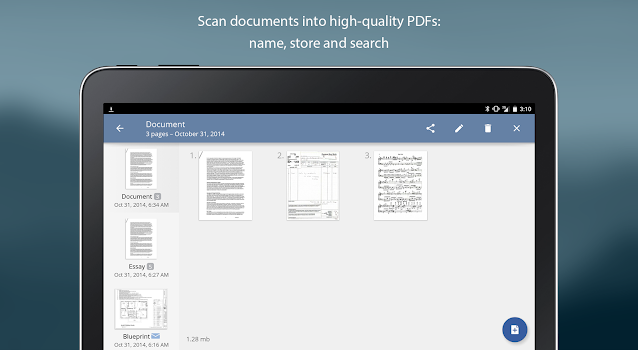 TurboScan: scan documents & receipts in PDF