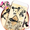Cartoon Keyboard Theme