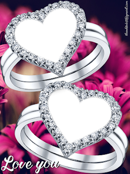 Lovely Ring Photo Frames