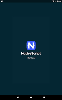 NativeScript Preview