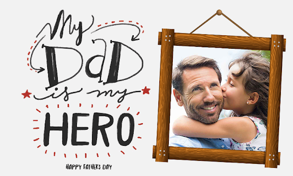 Happy Father Day Photo Frames - by Diamond Square Art - Photography ...