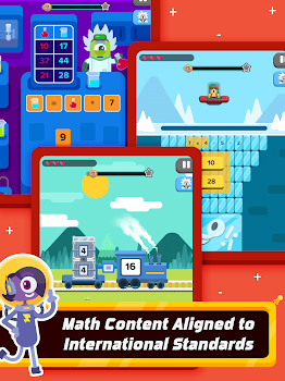Zapzapmath School : K-6 Games