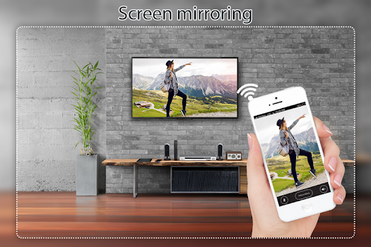 Screen Mirroring Display Phone Screen On TV