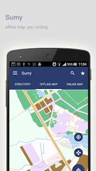 Sumy Map offline by iniCallcom Travel Local Category 15