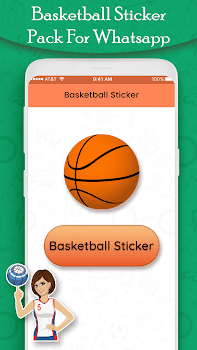 Basketball Players Stickers : Famous Players