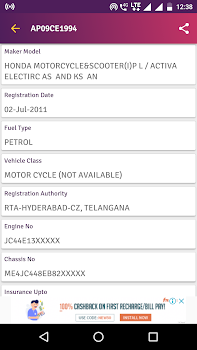 RTO Vehicle Owner Details - How To