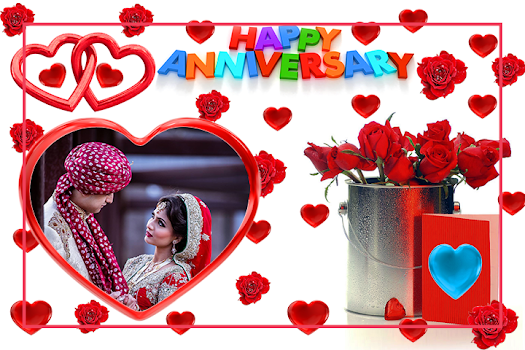 Anniversary Photo Frames By Sky Studio App Entertainment