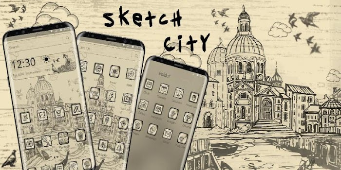 Sketched Street View