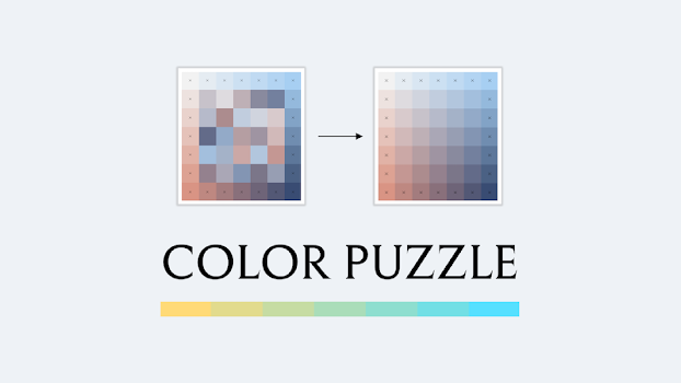 Color Puzzle Game + Download Free Hue Wallpaper