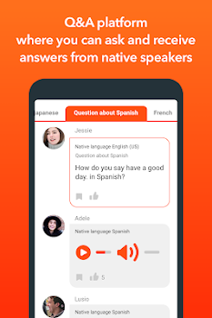 HiNative - Q&A App for Language Learning