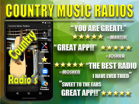 Country Music USA - by AplicacionesMAB - #18 App in Country