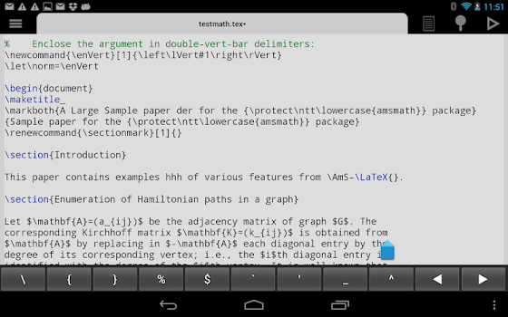 Related Apps: VerbTeX LaTeX Editor - by verbosus com
