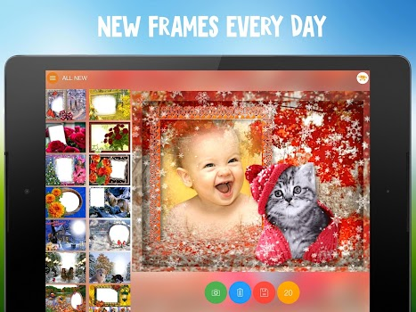Webka: Photo Frames Editor and Pic Collage Maker - by Awesome Photo ...