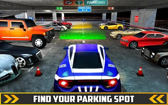 Luxury Car Parking Mania Parking Adventure By Alpha Games Studio