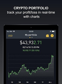 Crypto Tracker by BitScreener - Live coin tracking
