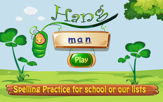 Hangman Kid's App for Spelling Word Practice