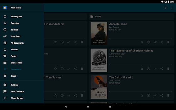 ReadEra - epub, pdf, docx ebook reader