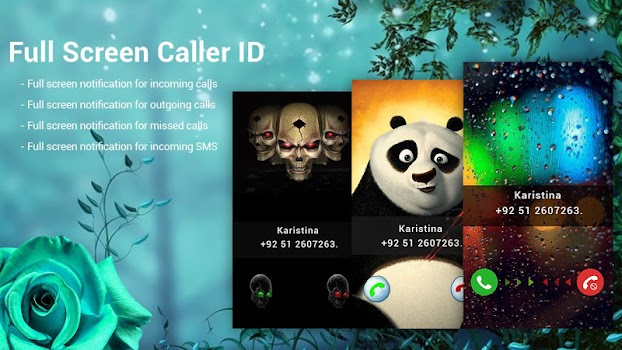 Full Screen Caller ID - truecaller