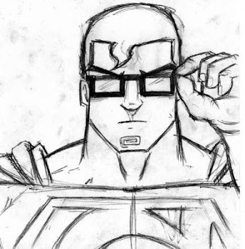 Draw Sketch Superhero