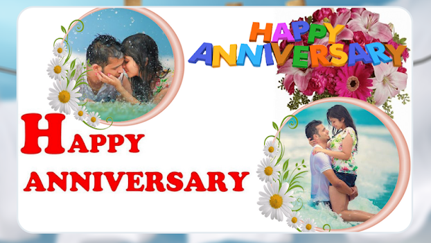 Anniversary Dual Photo Frame - by XpertApp Studio Inc - Photography ...