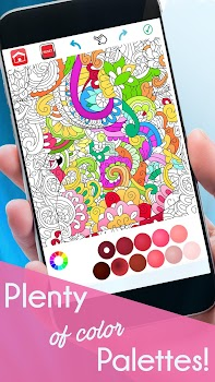 Coloring Book For Adults Free - ColorWolf