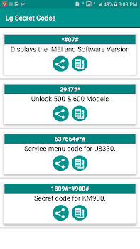 Secret Codes of LG 2019 Free - by Advance Techno - Social Category