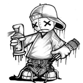 How To Draw Graffiti Characters By Hexadroid Art Design