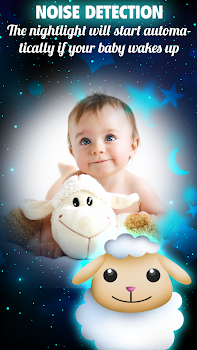 Baby Night Light: Instant Sleep Aid & White Noises