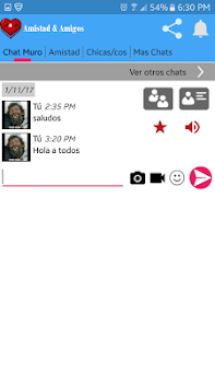 68484f424fca2 Chat Citas Amistad   Amigos - by Nuve en Red - Dating Category - 50 ...
