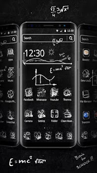 Blackboard Graffiti Theme
