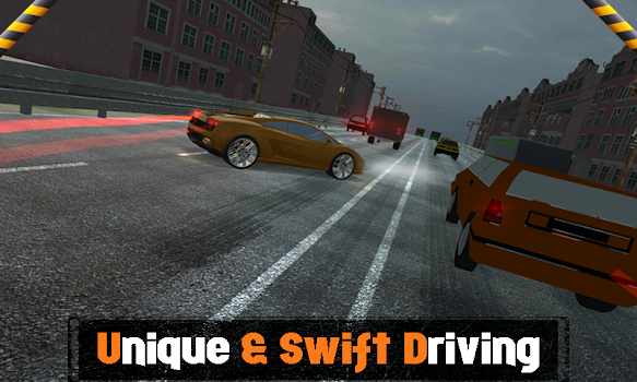 City Traffic Highway Muscle Car Crazy Drifting By 9 Wires Gamer