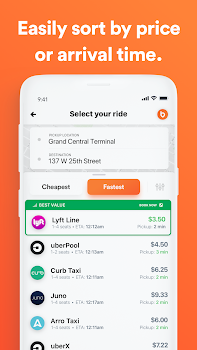 Bellhop - Compare all rideshares in one app.