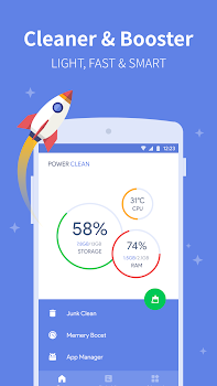 Power Clean - Antivirus & Phone Cleaner App