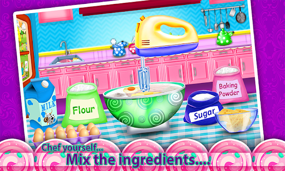 Princess cosmetics box cake maker cooking game by kaf enterprises cooking game solutioingenieria Gallery
