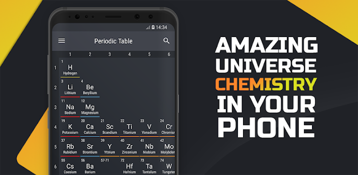 Periodic table 2018 pro by august software 2 app in periodic periodic table 2018 pro urtaz Gallery
