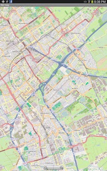 Leipzig Street Map by Dubbelecom Travel Local Category 1