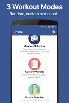 Gymster - Weight Lifting Log & Healthy Recipes