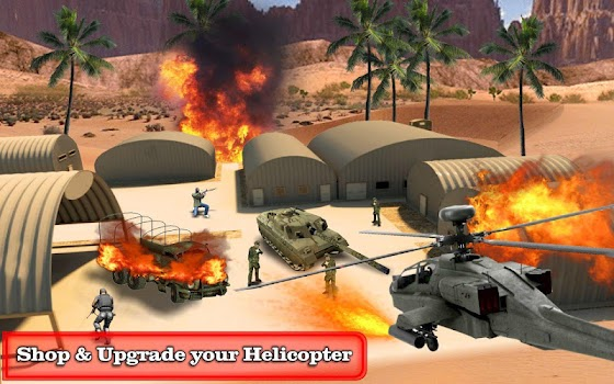 Gunship Air Strike - Heli 3D