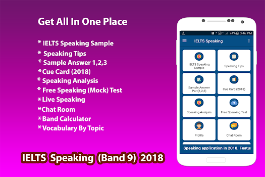 IELTS Speaking 2018 - by ReloadAppsltd - Education Category - 1,416 ...