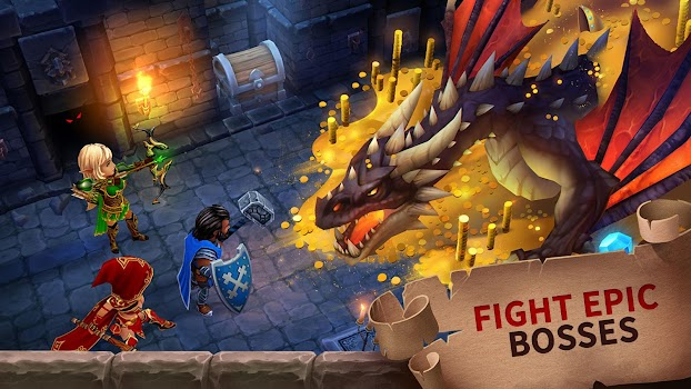Forge of Glory: Match3 MMORPG & Action Puzzle Game