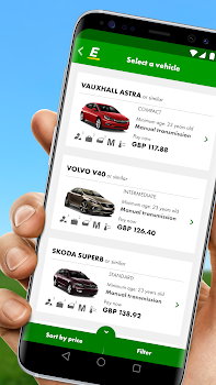 Europcar Car Van Hire By Europcar 15 App In Car Rental