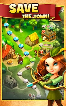 Robin Hood Legends – A Merge 3 Puzzle Game