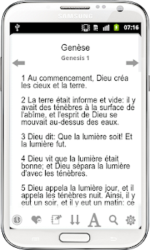 French Bible,Louis Segond FREE