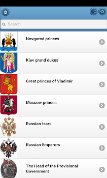 The rulers of Russia