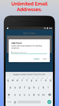 Mail Notes - Quickly Email Notes to Yourself