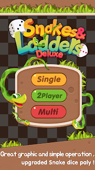 Snakes and Ladders Deluxe(Fun game)