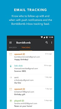 BombBomb Inbox