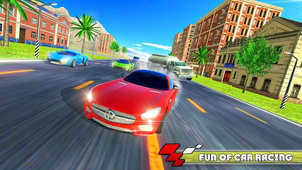 City Highway Car Racer - by Gaming Zone LLC - Racing Games Category