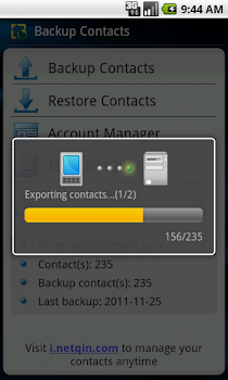 Contacts Backup & Restore