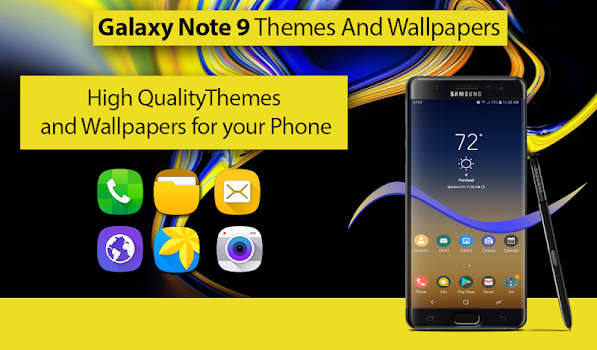 Theme For Samsung Galaxy Note 9 Wallpaper Note 9 By Alpha Click
